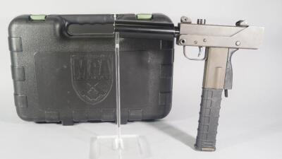 MasterPiece Arms MPA Defender 9mm Pistol SN# F20702, With Bbl Extension, In Original Hard Case
