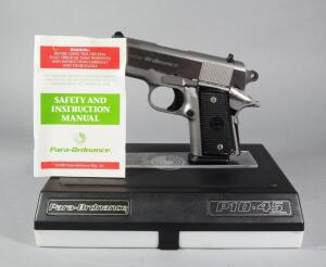 Para-Ordnance P10-45 .45 ACP Pistol SN# QM 2005, With Paperwork, In Original Hard Case
