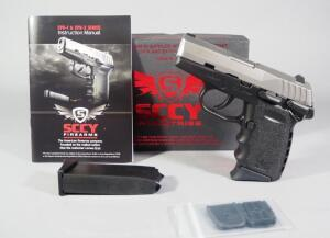 SCCY CPX-1TT 9mm Pistol SN# 936794, 2 Total Mags And Paperwork, In Original Box