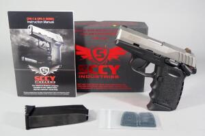 SCCY CPX-1TT 9mm Pistol SN# 935022, 2 Total Mags And Paperwork, In Original Box
