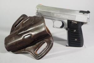Jimenez J.A. Nine 9mm Pistol SN# 137287, In Galco Leather Holster