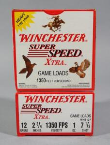 Winchester Super Speed 12 ga Game Load Shotgun Ammo, Approx 50 Rds, Local Pickup Only