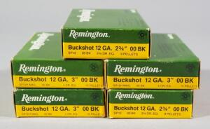 Remington 12 ga 00 Buckshot, Approx 25 Rds, Local Pickup Only