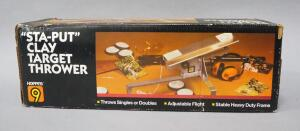 "Hoppe's ""Sta-Put"" Clay Target Thrower, NIB"