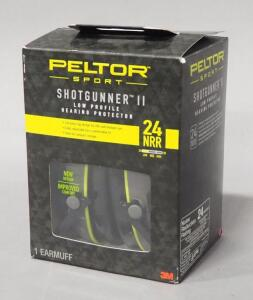 Peltor Sport Shotgunner II Ear Protection, In Box