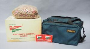 12 Ga Wads, Remington Primers And Norris Gun Bag, Local Pickup Only