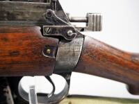 Lee Enfield No 4 MK .303 Cal Bolt Action Rifle SN# ANS907, Mfg 1943 England, With Canvas Sling - 6