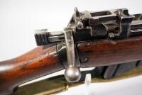 Lee Enfield No 4 MK .303 Cal Bolt Action Rifle SN# ANS907, Mfg 1943 England, With Canvas Sling - 16