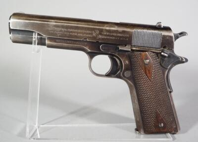 Colt Model Of 1911 US Army United States Property .45 ACP Pistol SN# 293529, Mfg. 1918