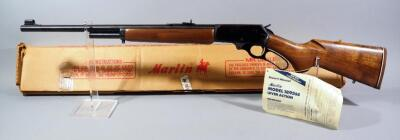 Marlin Model 1896 SS .45-70 Govt Lever Action Rifle SN# 12044302, With Manual (Attached), In Original Box