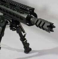 "Anderson Mfg AM-15 5.56 NATO / .223 Rifle SN# 19158827, 18"" BBL, Keymod Forend, With Vortex Sonora 4-12x44 Scope, Bipod And Adjustable Stock - 17"