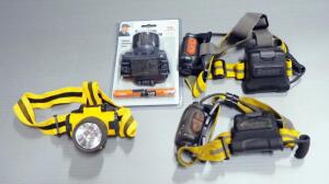 Head Lamps, Qty 4, 1 New In Box