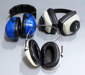 Ear Protection, Includes Silencio RBW-71, 3M Optime 95, And Peltor Bull's Eye 9