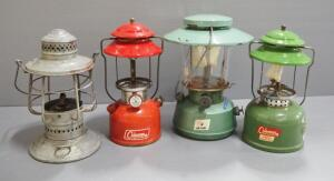 Kerosene Lanterns, Brands Include Coleman, Hawthorne And More, Total Qty 4, Local Pickup Only