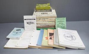 Military Manuals And Books, Various Titles, Approx Qty 26