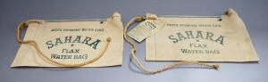 H.Wenzel Tent & Duck Co. Sahara Flax Water Bags, Qty 2