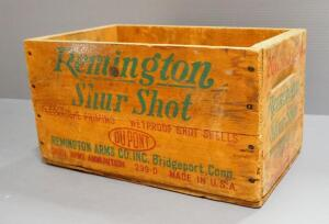 Remington ShurShot Wood Ammo Crate