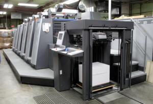 2013 Heidelberg SpeedMaster XL75, 23x29 5 Color Hybrid UV Press, See Description For More Information And Video