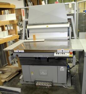 "2008 Polar RA-4 Jogger, 220 V, 74"" x 61"" x 52"", Includes Heidelberg Digital Scale, Model PC-820DL, See Description For Video"