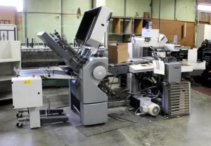 2008 Heidelberg Stahlfolder TH-56 Folder With Right Angle Folder, Includes Perforation Heads And Machine Specific Tools And Parts, Bidder Responsible For Proper Removal, See Description For Video