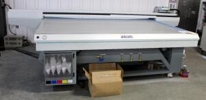2008 FujiFilm Acuity Advanced X20 Series Ink Jet UV Printer, Model HYB172, H5X2 Double Bed, High Speed, Bidder Responsible For Proper Removal, See Description For Video