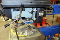 Sabermatic Die Saw, Model DJV36, With Delta Drill Press, Model 11-950, On Steel Stand - 5