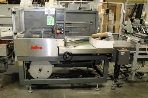 "2002 Kallfass Universal 5050 Shrink Wrap Machine, 3 Phase, 62"" x 68"" x 55"", Bidder Responsible For Proper Removal"