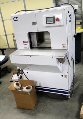 CE Stretch Film Machine, Single Phase, Includes Shrink Film Assortment