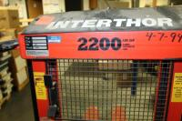 InterThor Trans Positioner Forklift, Model LL1000TES, 2200Lb Capacity, Unknown Working Order - 4