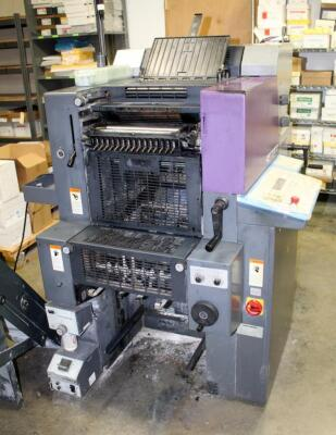 1999 Heidelberg Print Master QM 46-2 Color Press With Press Specialty C9000 Paper Feeder, Includes Additional Parts & Accessories, See Description For Video