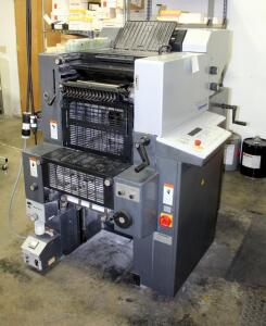 2008 Heidelberg Print Master QM 46-2 Color Press, Includes Additional Parts & Accessories, See Description For Video