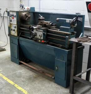 "Acra-Turn Metal Lathe, Model LC1340G, 50"" x 72"" x 26"", Bidder Responsible For Proper Disconnection And Removal"