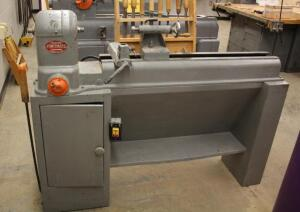 "Powermatic Electric Wood Lathe Model 45, Includes Lathe Hand Tools, 48"" x 60"" x 13.25"""