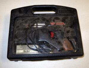 Weller Electric Soldering Iron In Carrying Case