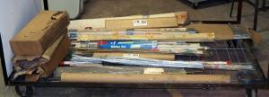 Welding Rod Assortment, Various Brand, Sizes, And Metals, Contents Of Cart