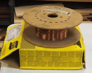 Arc Plus And Esab Mig Welding Wire, 1 Full Spool And 1 Partial