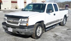 2005 Chevrolet Silverado Z71 4WD Pickup Truck, 56,323 Miles, V8, 5.3L, VIN # 1GCEK19B85E215355, See Description For Video