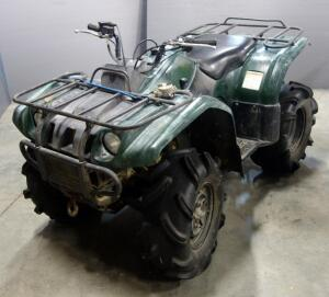 2003 Yamaha YFM400 Kodiak 4x4 ATV All Terrain Vehicle, 263 Miles, VIN # 5Y4AJ07Y83A002646, See Description For More Info And Video