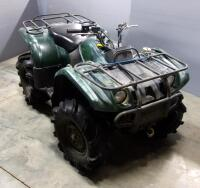 2003 Yamaha YFM400 Kodiak 4x4 ATV All Terrain Vehicle, 263 Miles, VIN # 5Y4AJ07Y83A002646, See Description For More Info And Video - 3