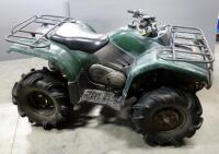 2003 Yamaha YFM400 Kodiak 4x4 ATV All Terrain Vehicle, 263 Miles, VIN # 5Y4AJ07Y83A002646, See Description For More Info And Video - 4
