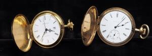 Pocket Watches, Qty 2, Includes Elgin (Missing Glass Front) And Wakmann
