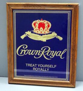 "Crown Royal Bar Mirror, 16.5"" Wide x 19.5"" High"