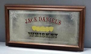 "Jack Daniel's Whisky Bar Mirror, 28"" Wide x 15"" High"