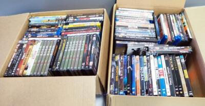DVD And Blu-Ray Movie Collection, Various Titles, Approx Qty 94, See Images For Titles