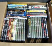 DVD And Blu-Ray Movie Collection, Various Titles, Approx Qty 94, See Images For Titles - 2