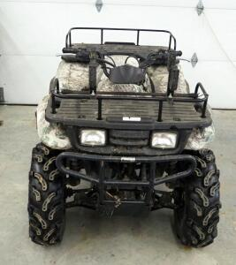 2000 Kawasaki Automatic Gas Powered ATV, Miles Showing 735.6, VIN JKAVF8A1XYB516824, New Tires, See Description For Video