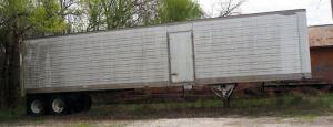 1986 Great Dane Double Axle Semi Trailer, Model 7311T, GVWR 65,000lbs, 45' x 8', VIN 1GRAA902XGBB071301, Unknown Working Order