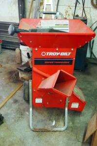 Troy Bilt Super Tomahawk Gas Powered Pull Behind Wood Chipper, Model # 47251, Including Additional Filters, Parts And Accessories