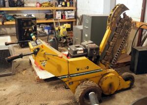 Vermeer Gas Powered Walk Behind, Trencher, Model V-1150, Needs Repair