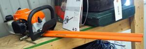 Stihl Gas Powered Hedge Trimmer Model SH45, Brand New Never Used